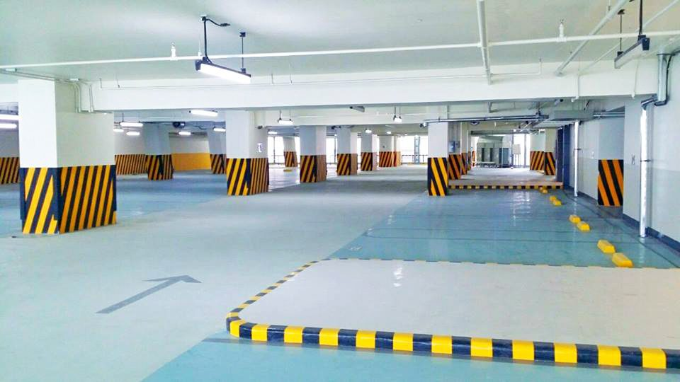 How To Reduce Tire Squeal And Improve Slip Resistance On Your Epoxy Coated Carpark Floor
