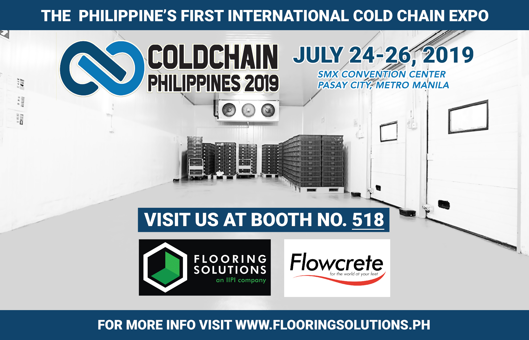 Flooring Solutions Joins Cold Chain Philippines 2019