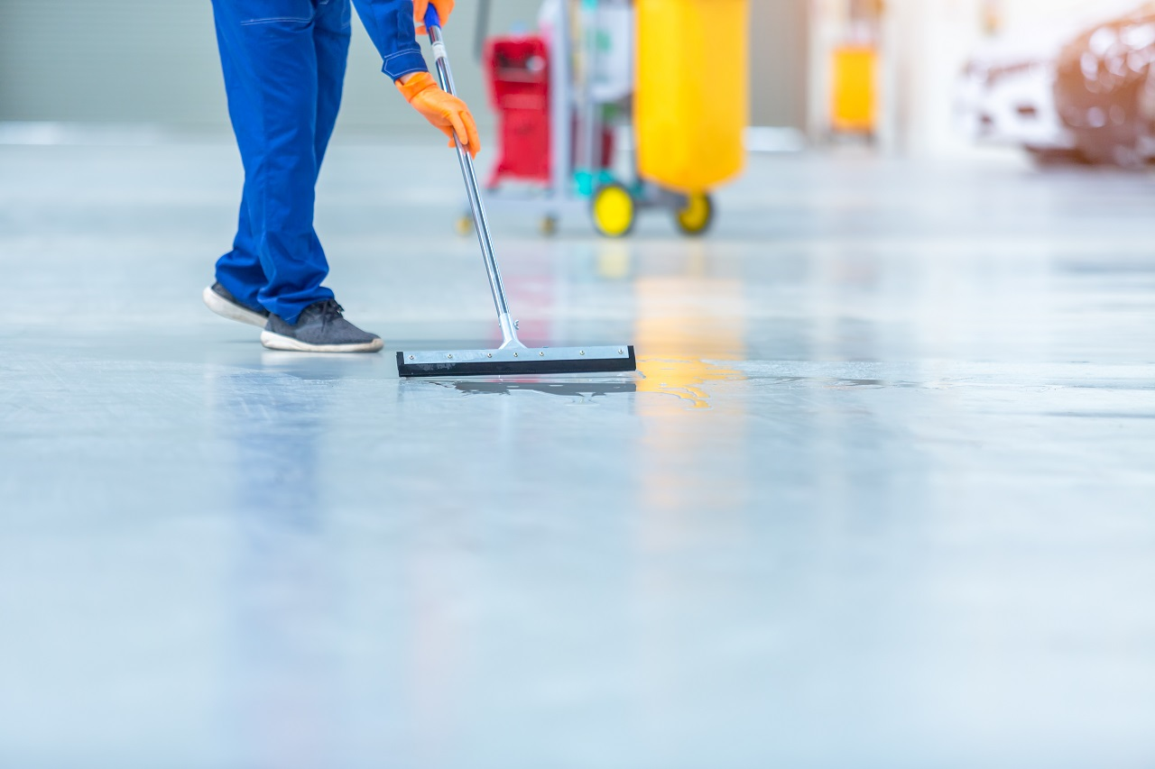 Polished Concrete vs. Vinyl Flooring