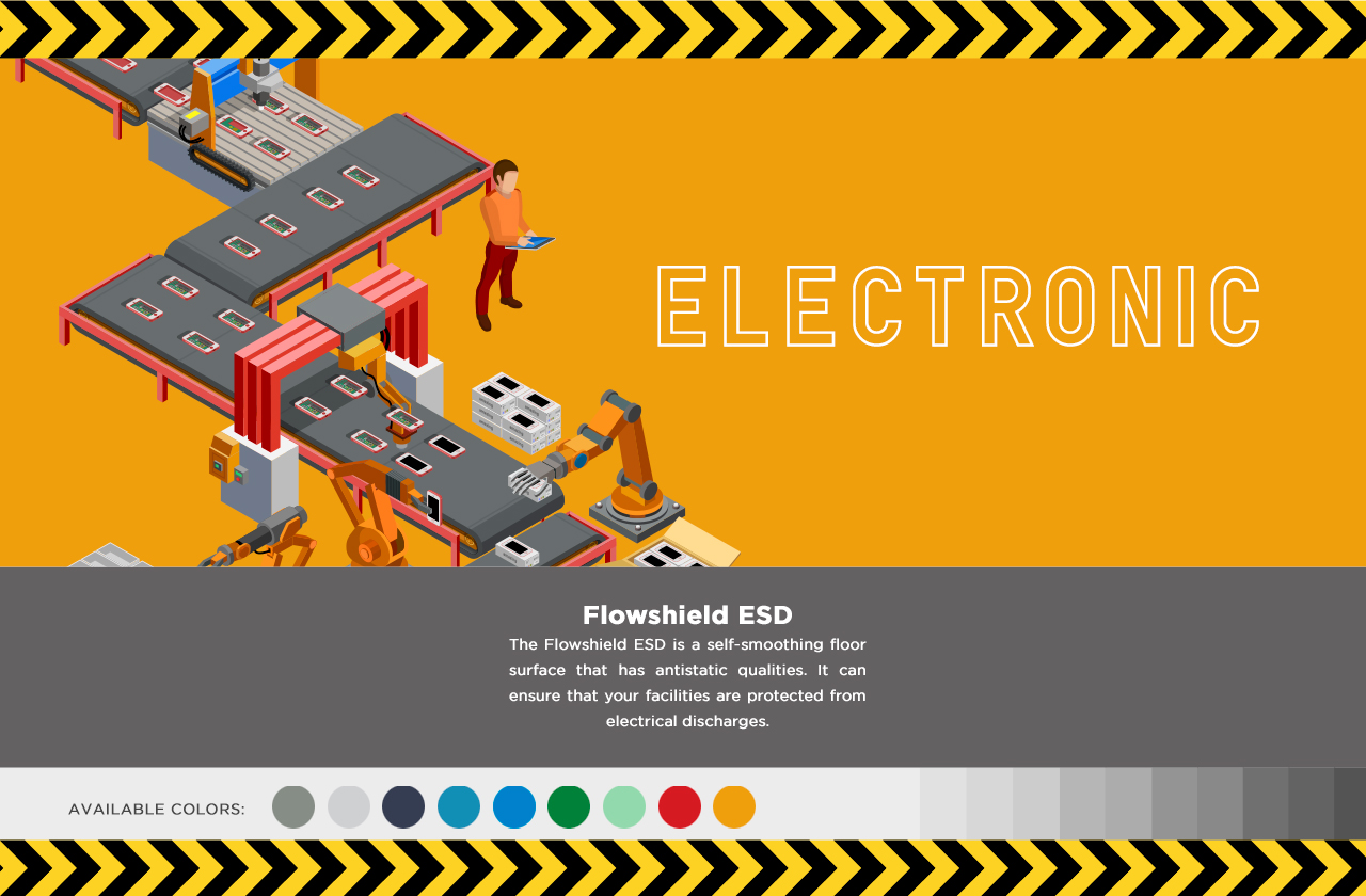 Graphic of electronic manufacturing