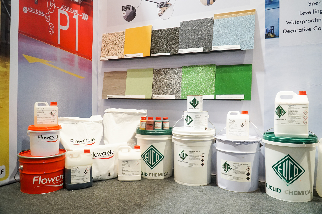 Flooring Solutions Products Exhibited at PHILCONSTRUCT 2019