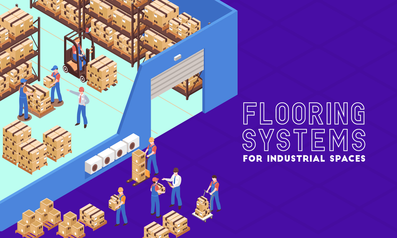 Graphic of a warehouse