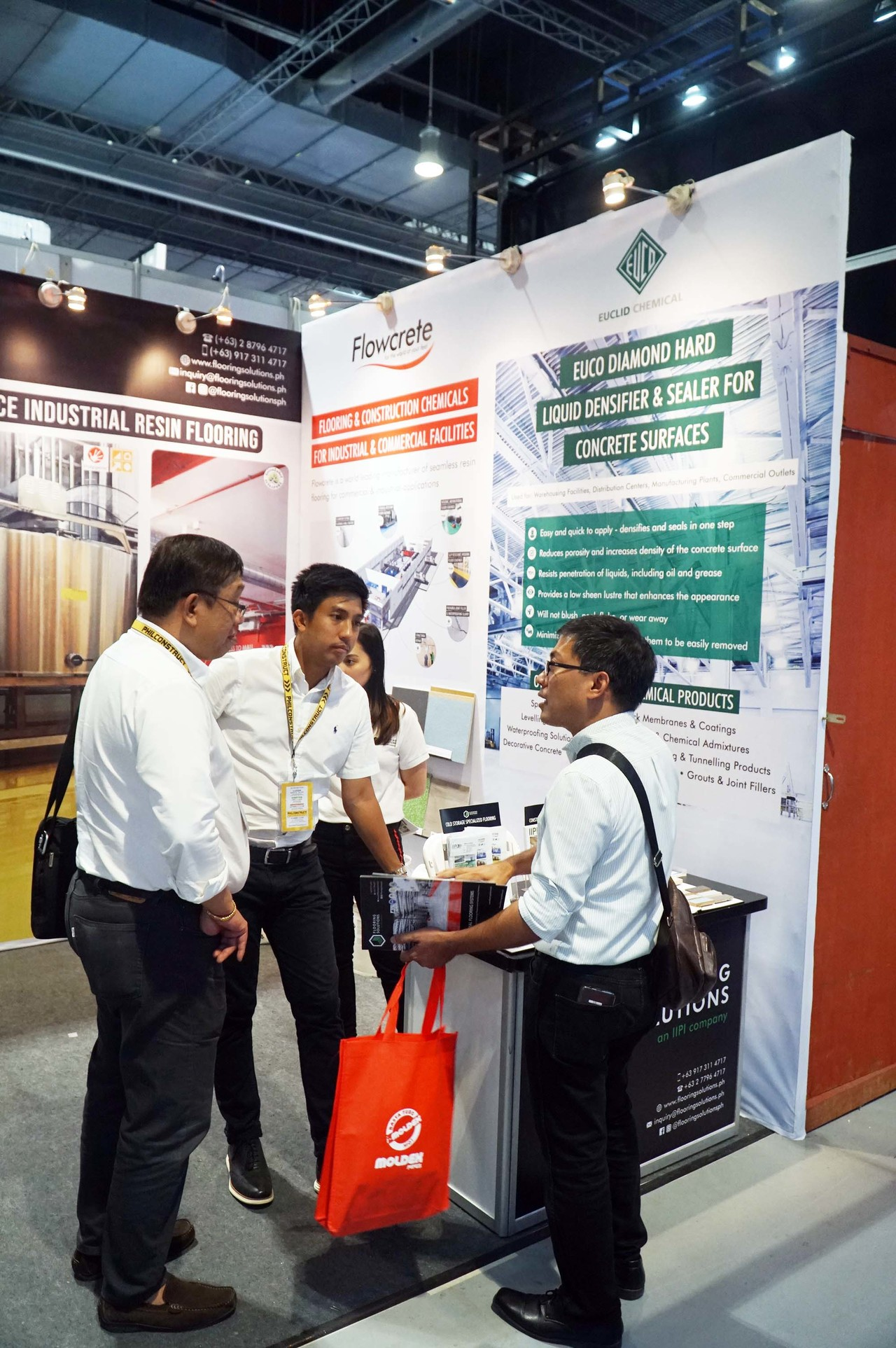 Flooring Solutions booth at PHILCONSTRUCT 2019