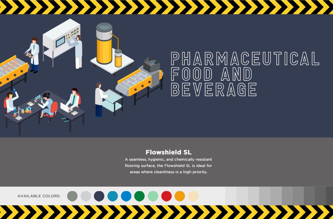 Graphic of a pharmaceutical lab