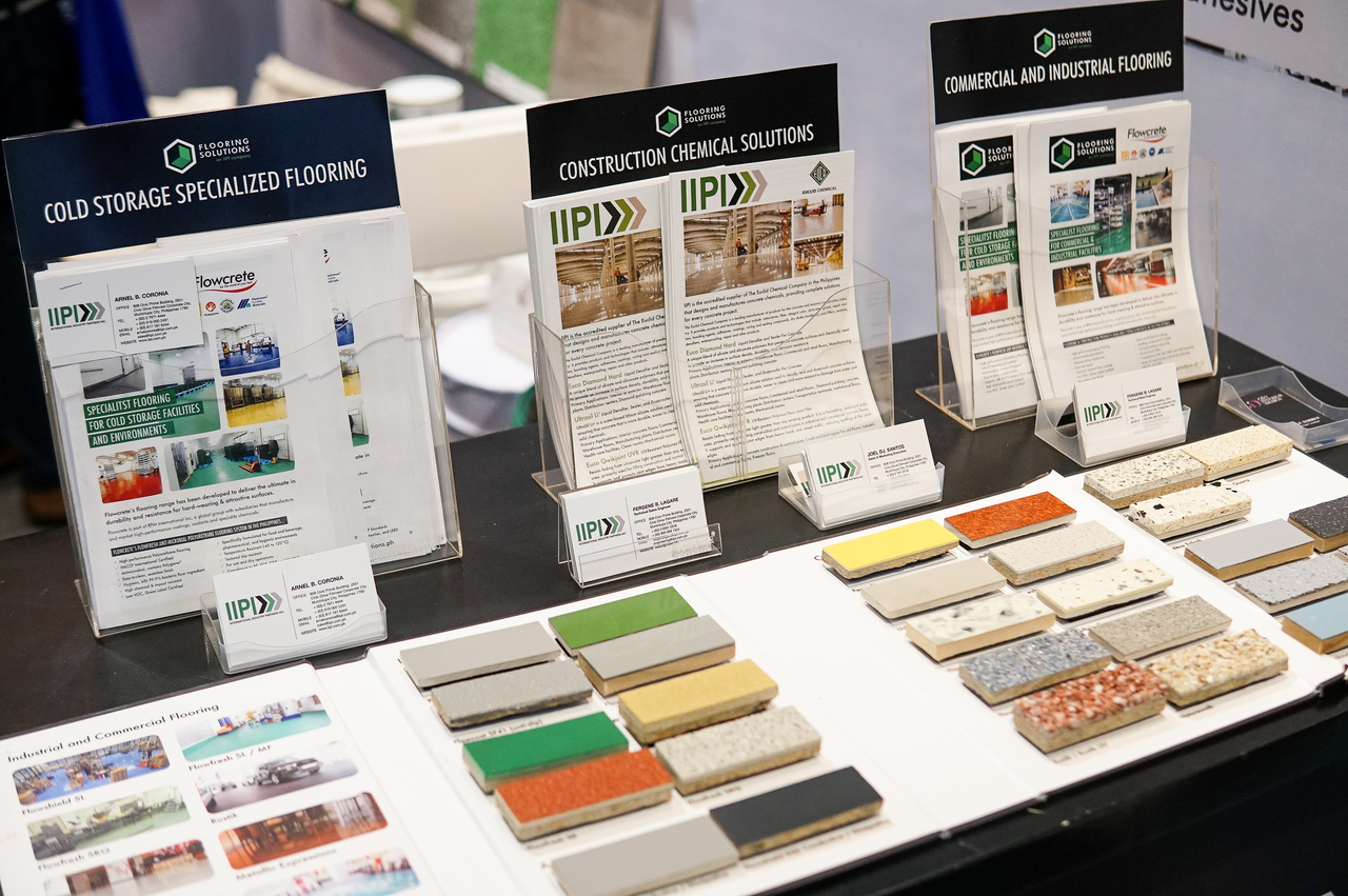 Brochures with Flooring Solutions products