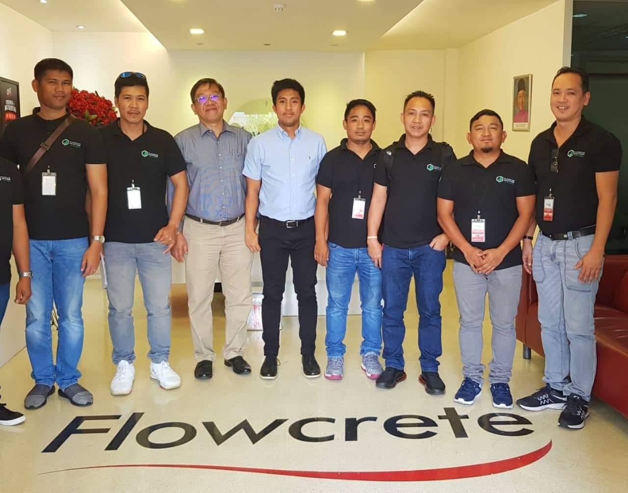 Training At Flowcrete Asia Headquarters