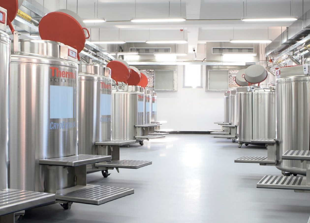 Epoxy flooring in a pharmaceutical facility