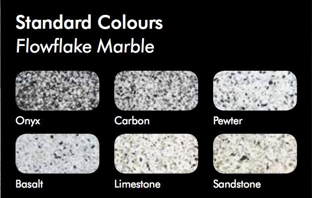 Flowflake Marble Colors