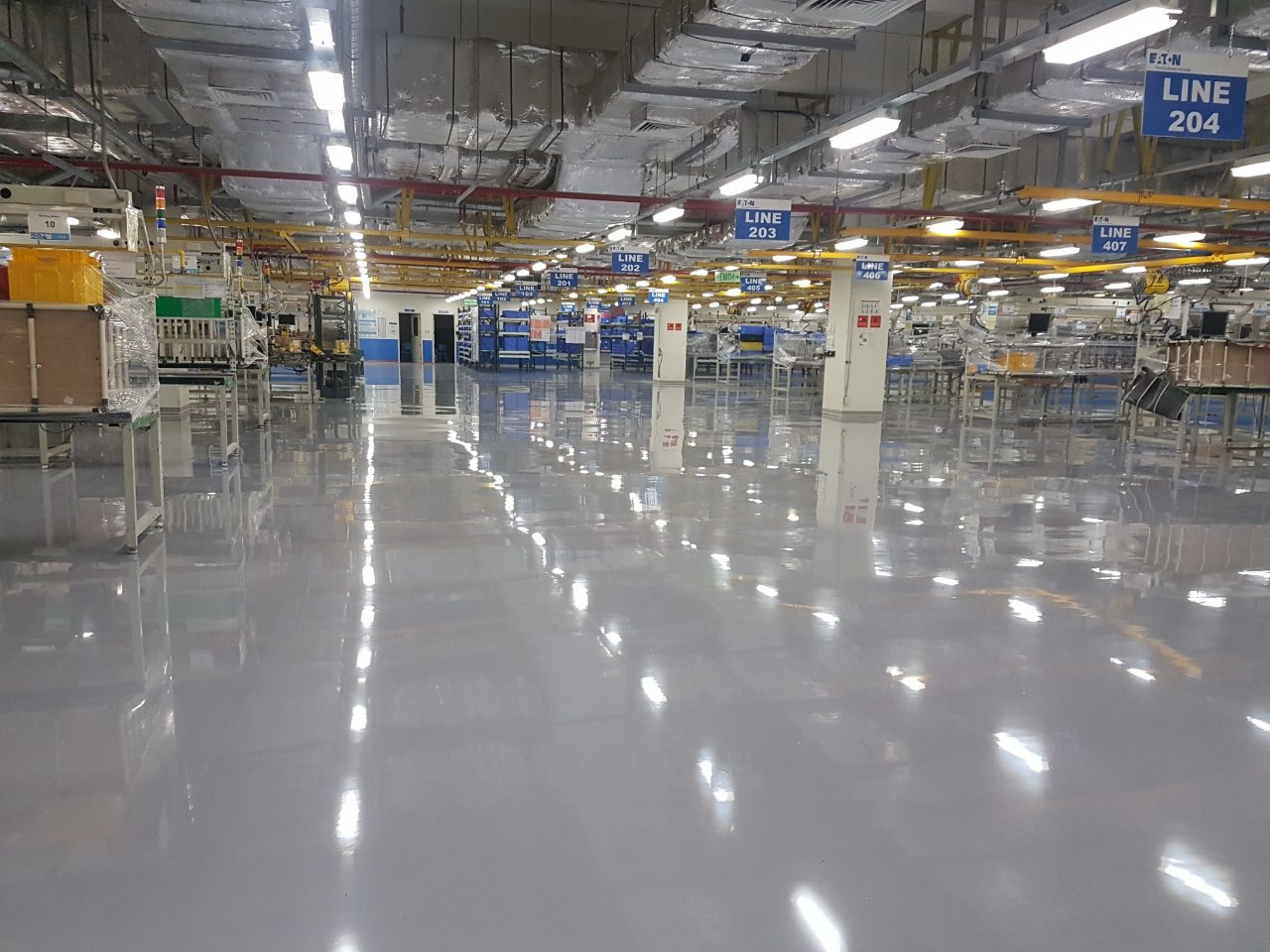 Self-Levelling Epoxy Floors