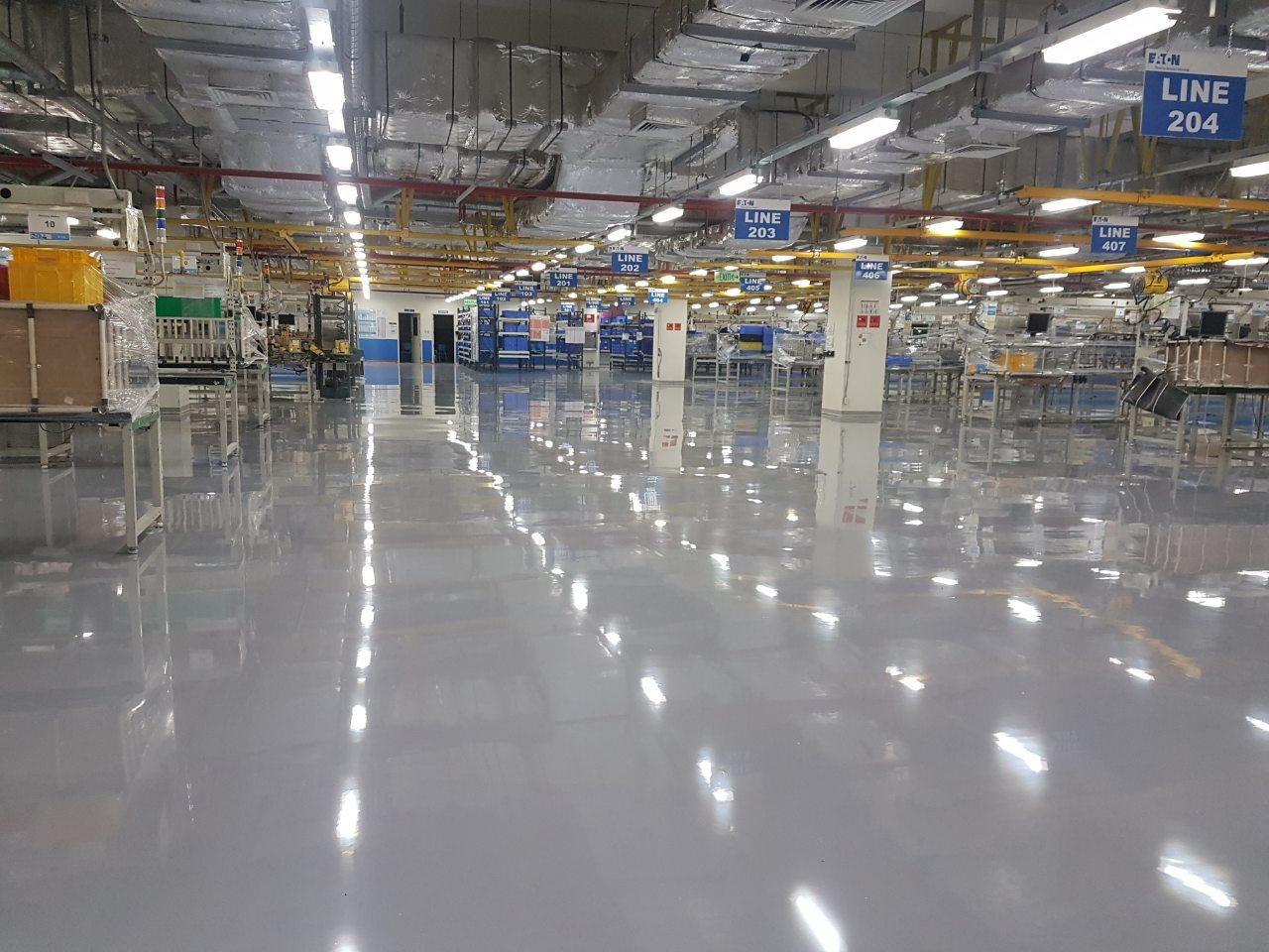 Self-Levelling Epoxy Floors