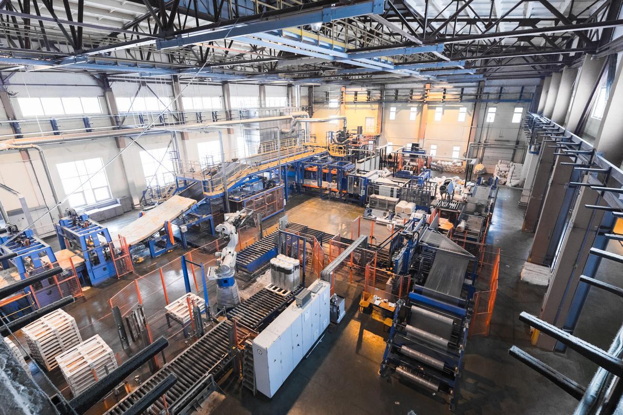 Electronic Manufacturing Flooring