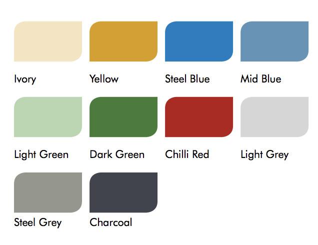 Flowshield SL Colors