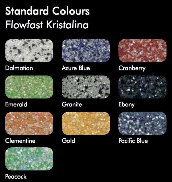 Flowfast Kristalina Colors